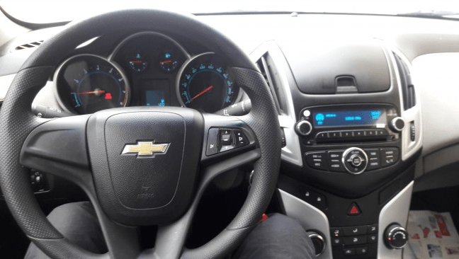 chevrolet cruze toutes options